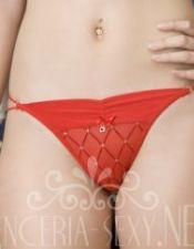 Tangas sexys en color rojo