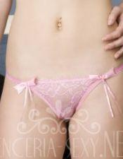 Tangas sexys en color rosa