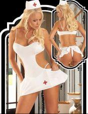Disfraces de Enfermeras Sexys para Mujeres Divertidas y Sensuales DIS00036