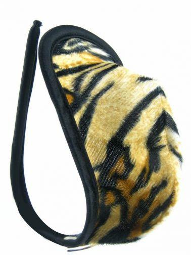 Tanga INVISIBLE MASCULINO de tejido suave con motivos de tigre