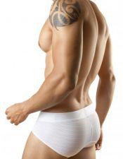 Slips masculinos en color blanco