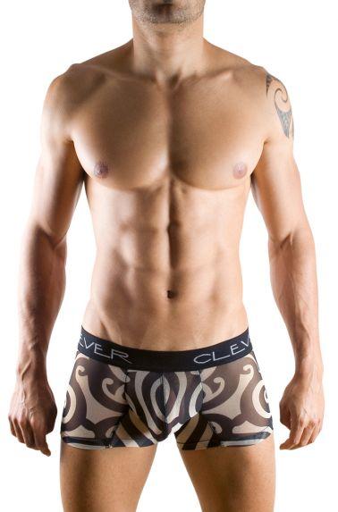 Boxer sexy con estampados trivales en color negro