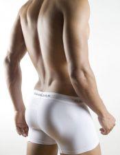 Boxer sexy de hombre de tejido elastico con finos puntitos y banda elastica BOX00029