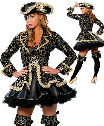 Atractivo disfraz de Pirata sexy