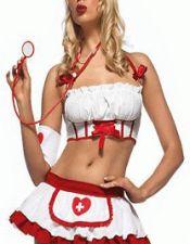 Conjunto sexy de enfermera DIS00081