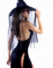 Disfraces de Halloween en color negro