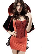 Disfraces de vampiresa en color rojo