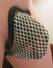Novedoso tanga invisible con agujeros decorativos TNG00045