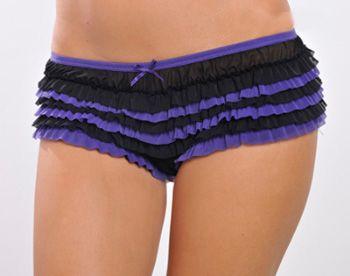 Original culotte con volantes de lenceria femenina