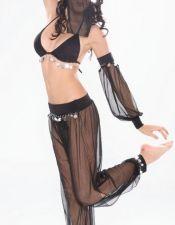 Bailarina de Danza del Vientre semitransparente DIS00112