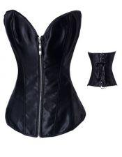 Elegante corset con cremallera y escote de corazón también para tallas grandes CYC00242