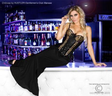 Elegante falda sexy larga negra de tejido elástico