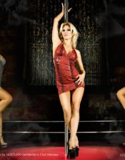 Mini vestido sexy con estampación de piel de Serpiente VES00148