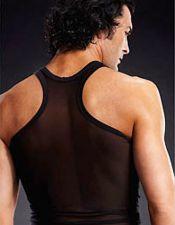 Camisetas de hombres en color negro