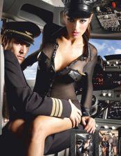 Disfraz sexy de Comandante de tres  piezas DIS00127