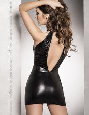 Piel, latex y cuero en color negro