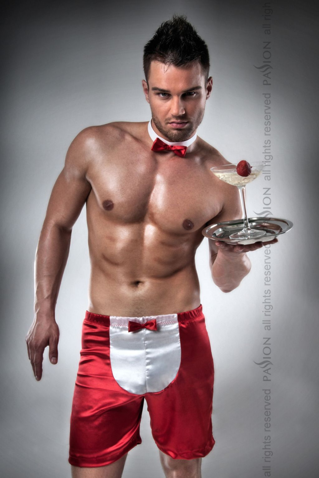 Disfraz masculino sexy de camarero