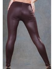 Leggins sexys en color marron