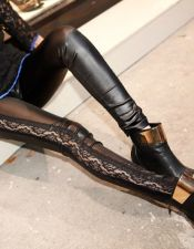 Leggins sexys en color negro