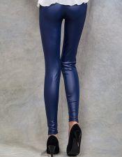 Leggins sexys en color azul oscuro