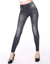 Leggins tipo jeans azul oscuro LEG00044