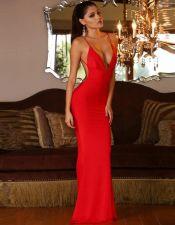 Vestidos sexys en color rojo