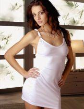Vestido sexy con tres argollas en tirantes VES00003