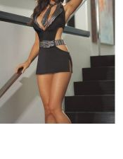 Vestidos sexys en color negro