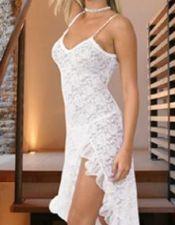 Camisones para novias en color blanco