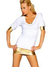 Vestidos sexys en color blanco