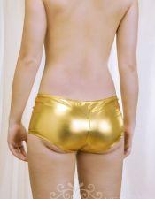 Culotes en color dorado