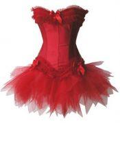 Corsets sexys en color rojo