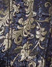 Corsets sexys en color azul oscuro