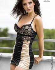 Vestidos sexys en color marfil